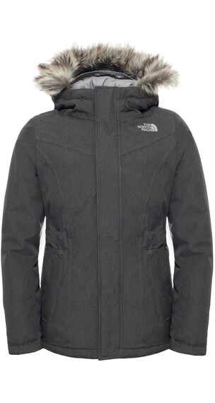 The North Face Girls Greenland Down Parka Graphite G Hthr